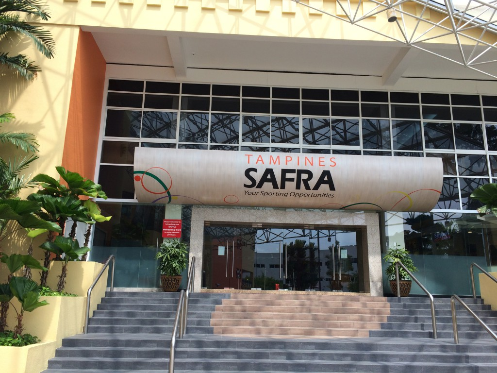 Main Entrance to SAFRA building
